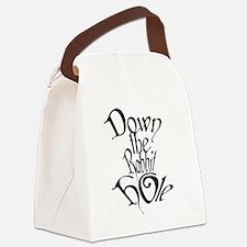 Cool Strange Canvas Lunch Bag