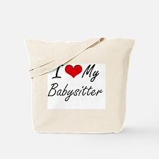 Unique Babysitter Tote Bag
