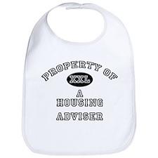 Property of a Housing Adviser Bib