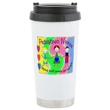 Cute Pediatrics nurse Travel Mug