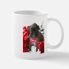 Boxer puppy holiday Mugs