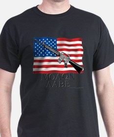 Cool Ar 15 flag T-Shirt