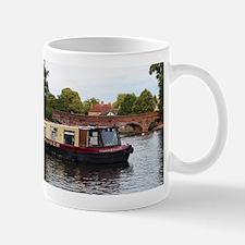 Cruise barge, Stratford, England Mugs