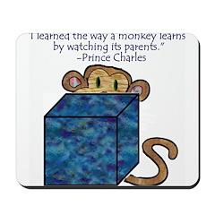 Monkey Learning Mousepad