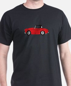 Red MG Midget Cartoon T-Shirt