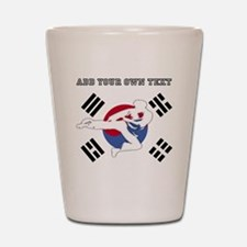 Taekwondo Shot Glass