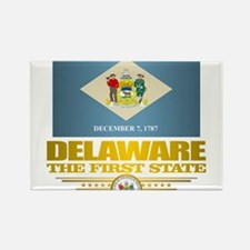 Cute Delaware Rectangle Magnet
