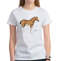 Clydesdale Horse (Front) Women's T-Shirt