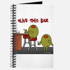 Olive This Bar Journal
