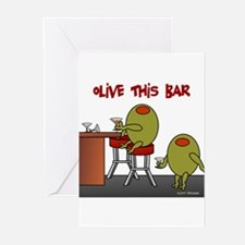 Olive This Bar Greeting Cards (Pk of 10)