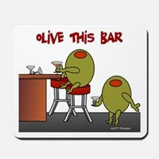 Olive This Bar Mousepad