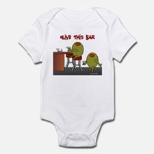 Olive This Bar Infant Bodysuit