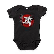 Funny Martial arts Baby Bodysuit