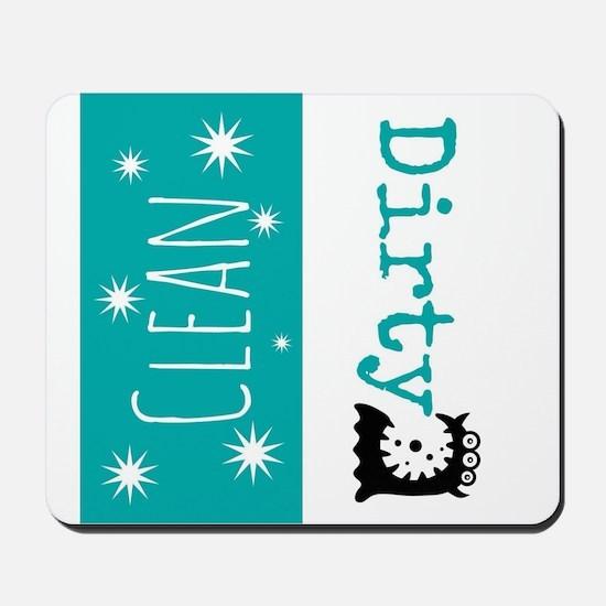 Clean Dirty Mousepad