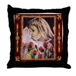 Throw Pillow / Spring Angel