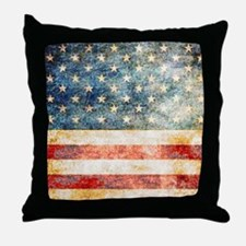 Unique Stars and stripes Throw Pillow