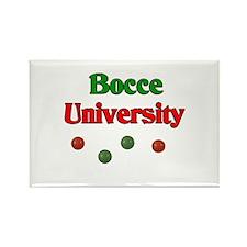 Bocce University Rectangle Magnet