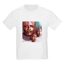 3 Faces of Africa Kids T-Shirt