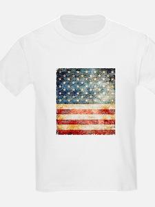 Stars over Stripes Vintage T-Shirt