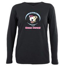 Pit bulls Plus Size Long Sleeve Tee
