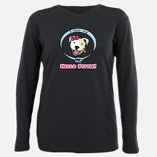 Unique Pit bulls Plus Size Long Sleeve Tee