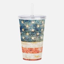 Stars over Stripes Vin Acrylic Double-wall Tumbler