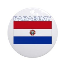 Paraguay Ornament (Round)
