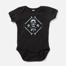Cute Motorcycles Baby Bodysuit