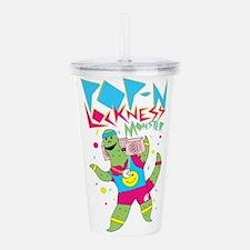Pop N Lockness Monster Acrylic Double-wall Tumbler
