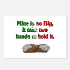 Big Cannoli Postcards (Package of 8)