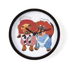Raggedy Ann & Andy Doxies Wall Clock