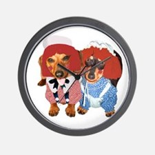 Raggedy Ann & Andy Doxies Wall Clock