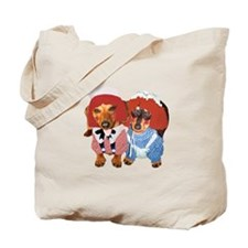 Raggedy Ann & Andy Doxies Tote Bag