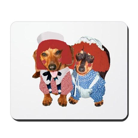 Raggedy Ann & Andy Doxies Mousepad