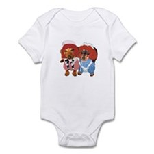 Raggedy Ann & Andy Doxies Infant Bodysuit