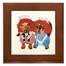 Raggedy Ann & Andy Doxies Framed Tile