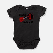 Unique Rock star Baby Bodysuit