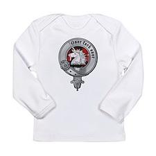 Cute Scottish clan crest Long Sleeve Infant T-Shirt