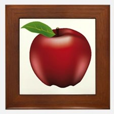 Unique Apple Framed Tile