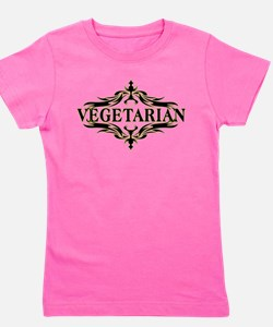 Unique Vegetarianism Girl's Tee