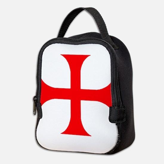 Templar Red Cross Neoprene Lunch Bag