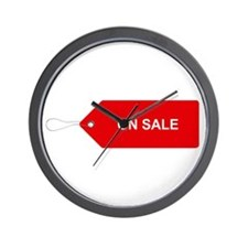 Red Tag Sale - On Sale Wall Clock