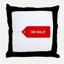 Red Tag Sale - On Sale Throw Pillow
