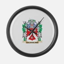 Gelderland Coat of Arms (Family C Large Wall Clock