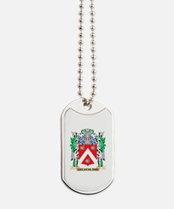 Gelderland Coat of Arms (Family Crest) Dog Tags