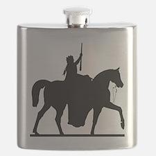 Unique Bull snake Flask