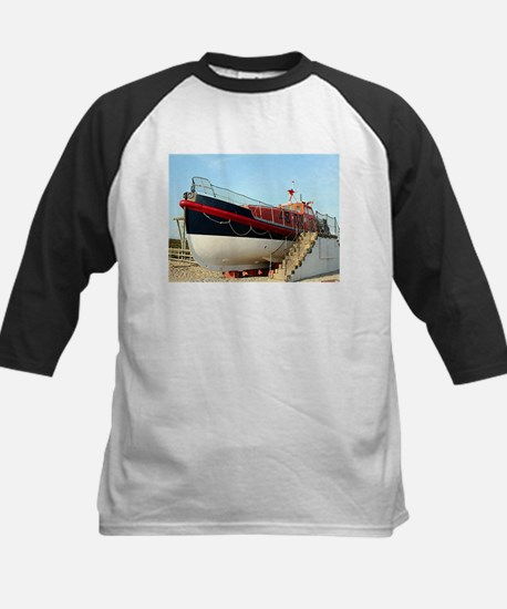 Lifeboat, Land's End, England Baseball Jersey