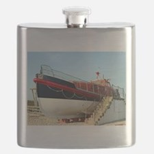 Lifeboat, Land's End, England Flask