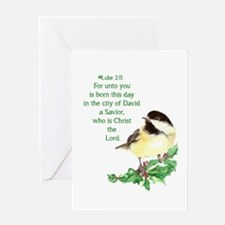 Christian Christmas Scripture Greeting Cards