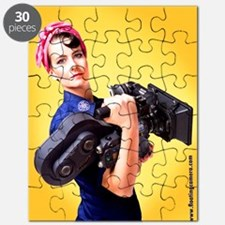Rosie The Camera Woman Puzzle